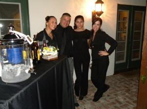 """My crew with """"El Padrino"""""""