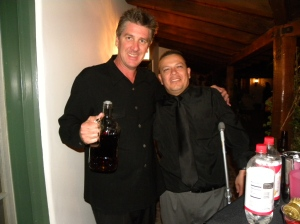"""The bartender and """"El Padrino"""""""