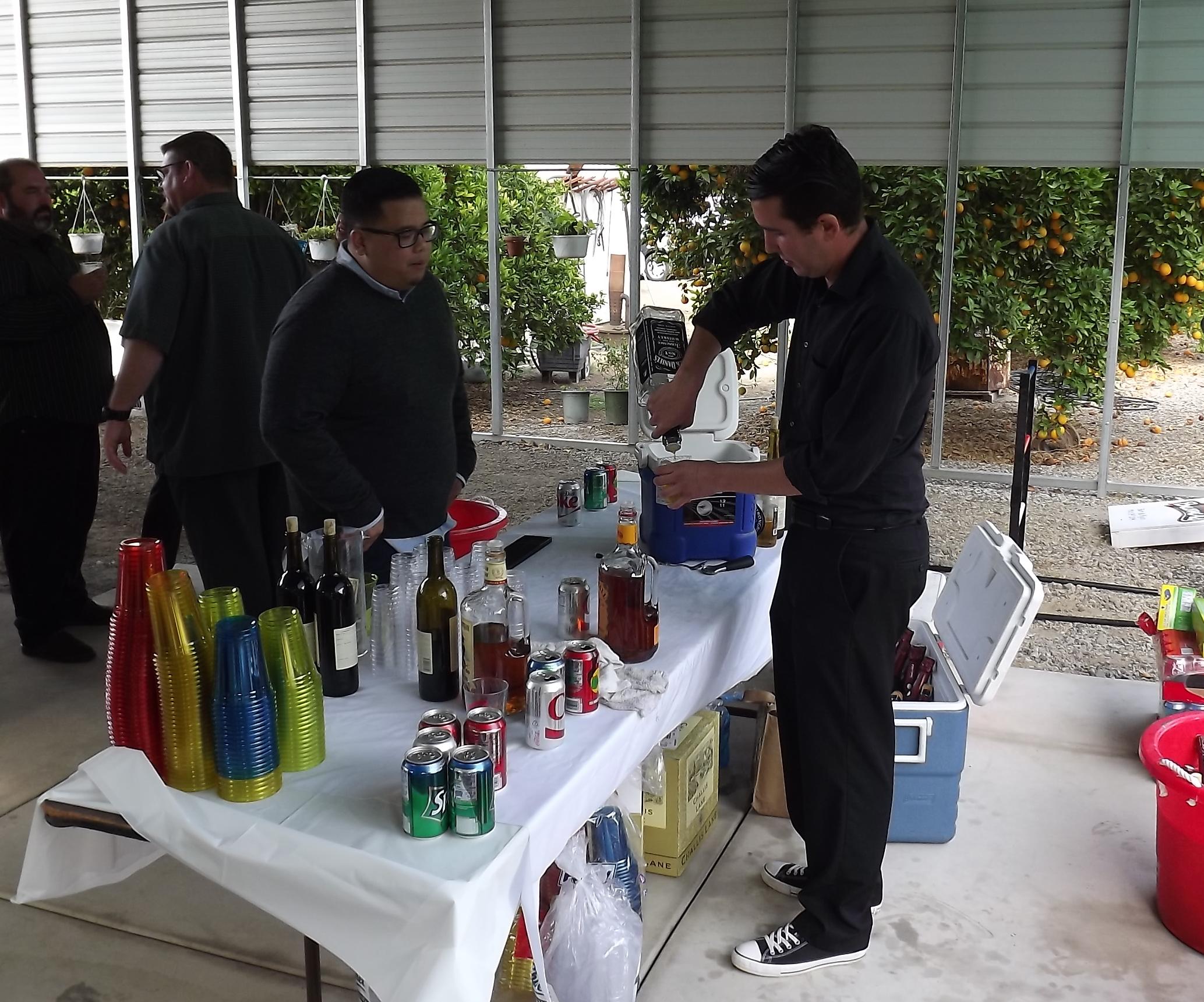 Bachelorette Party Bartender Shaken Not Stirred In La