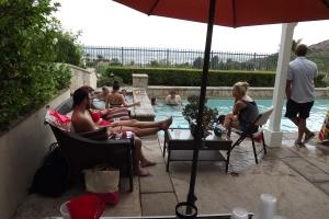 Burbank pool party