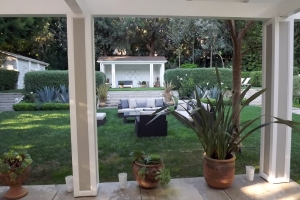 Beverly Hills backyard