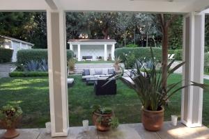 Beverly Hills backyard