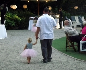 Future bride with her daddy