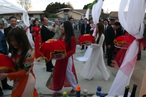 Traditional Vietnamese engagement party