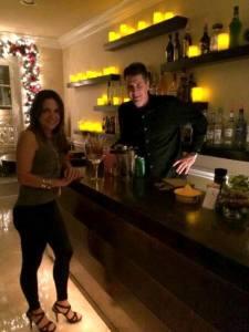 Classy home bar in Simi