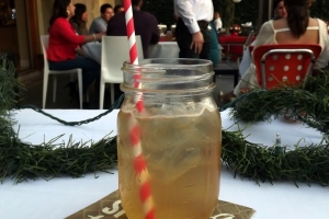 Santa's Syrup with whiskey in Downey