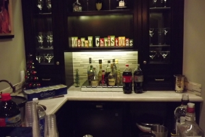 Holiday party bar