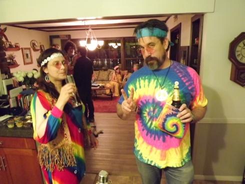 Two hippies in Northridge