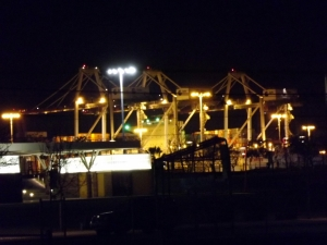 Port of Los Angeles in Wilmington