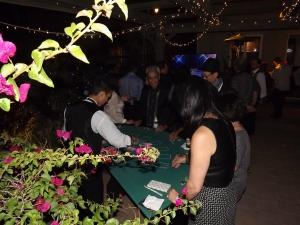 Blackjack table in Porter Ranch