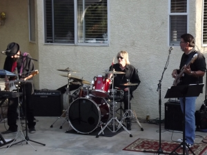 Live band at the party