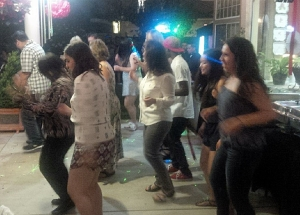 """Guests dancing to the """"Cupid Shuffle"""""""