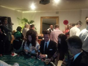 Mock casino in Manhattan Beach