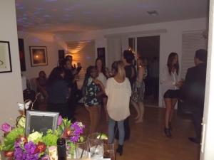 Makeshift dance floor