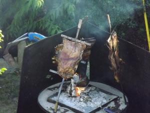 Argentine fire pit