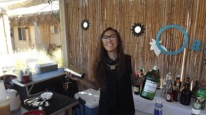 Fellow bartender, Mia
