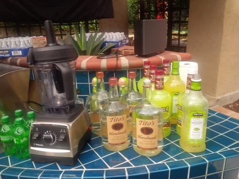 Bar setup in Encinitas