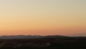 Sunset in Temecula